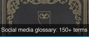 Social meda glossary from Hootsuite
