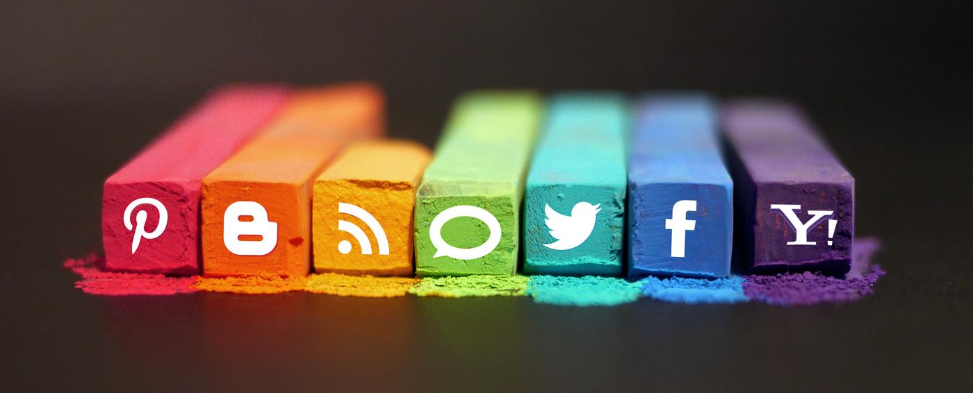 Social networks on chalk