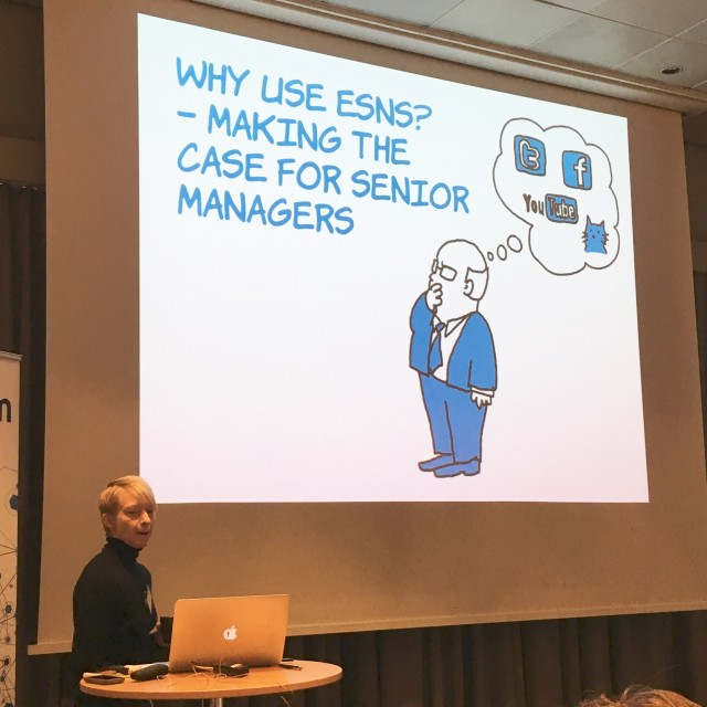 Making the business case for an ESN — Virpi Oinonen at IntraTeam Event Copenhagen